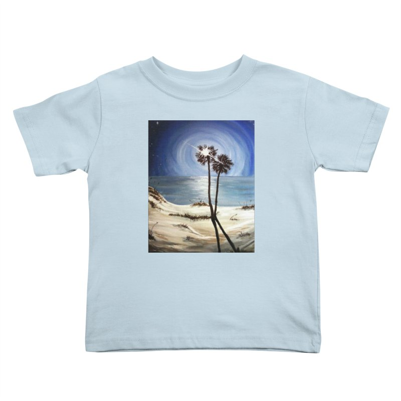 two trees in the moonlight Kids Toddler T-Shirt by joe's shop