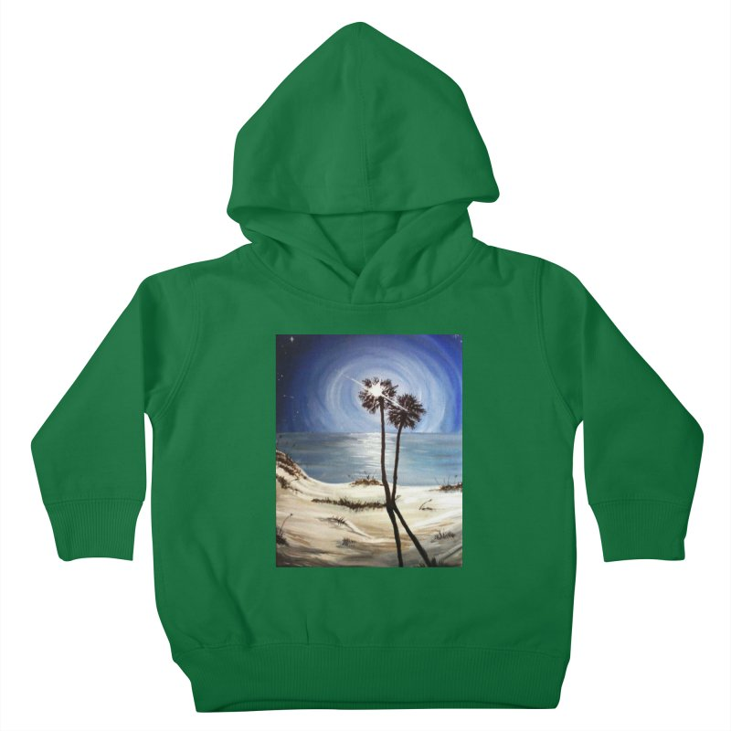 two trees in the moonlight Kids Toddler Pullover Hoody by joe's shop