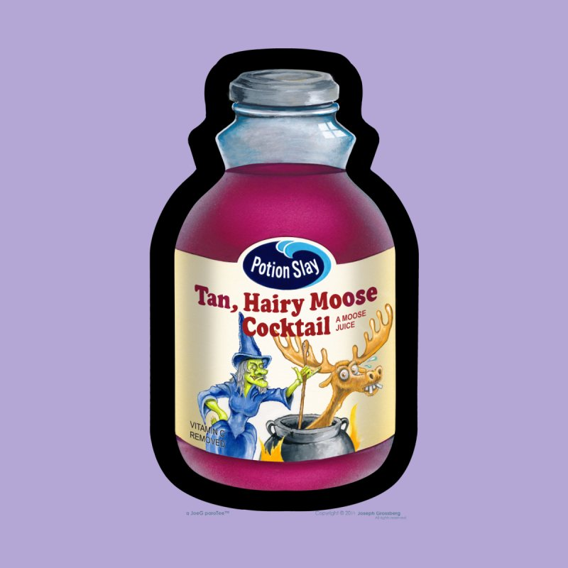Potion Slay: Tan, Hairy Moose Cocktail by joegparotee's Artist Shop