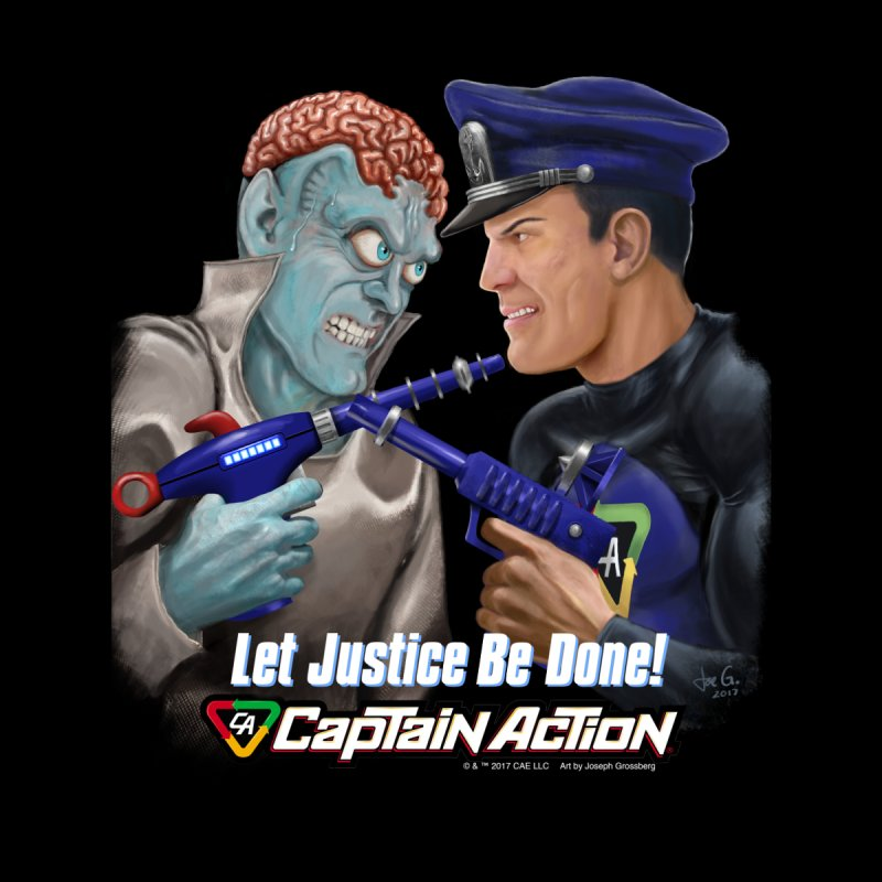 CAPTAIN ACTION   Let Justice Be Done! by joegparotee's Artist Shop