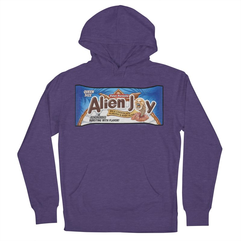 ALIEN JOY Candy Bar - Bursting with Flavor! Men's French Terry Pullover Hoody by joegparotee's Artist Shop