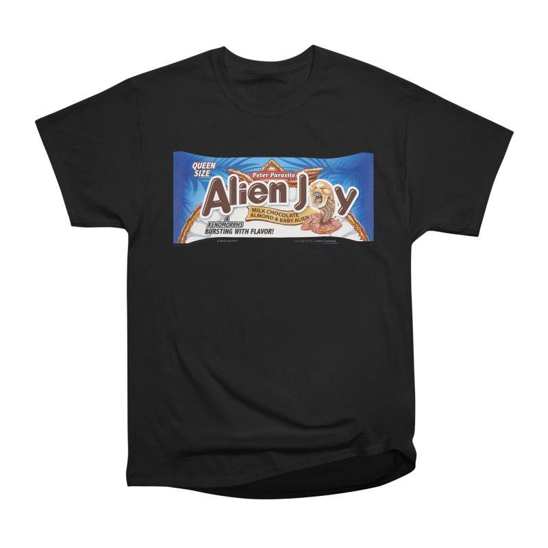 ALIEN JOY Candy Bar - Bursting with Flavor! Women's Classic Unisex T-Shirt by joegparotee's Artist Shop