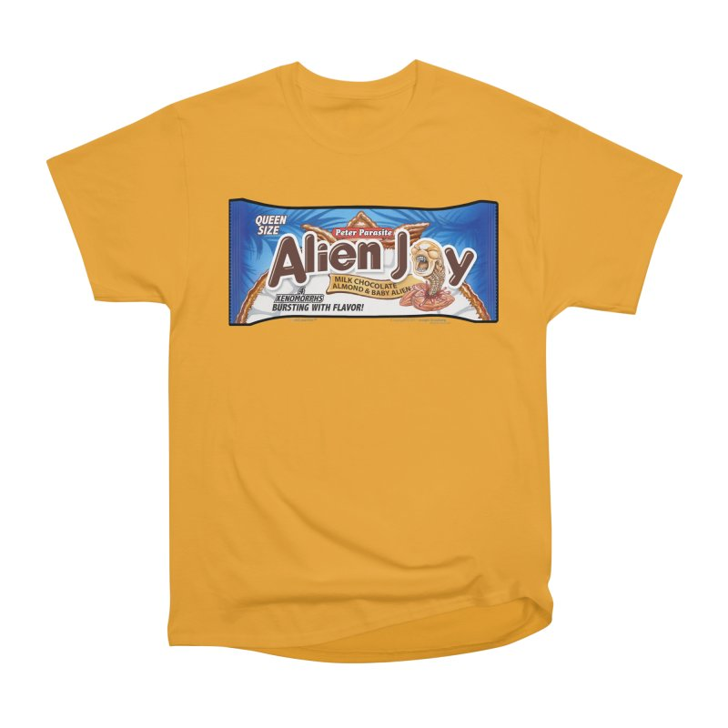 ALIEN JOY Candy Bar - Bursting with Flavor! Women's Classic Unisex T-Shirt by joegparotee's Artist Shop