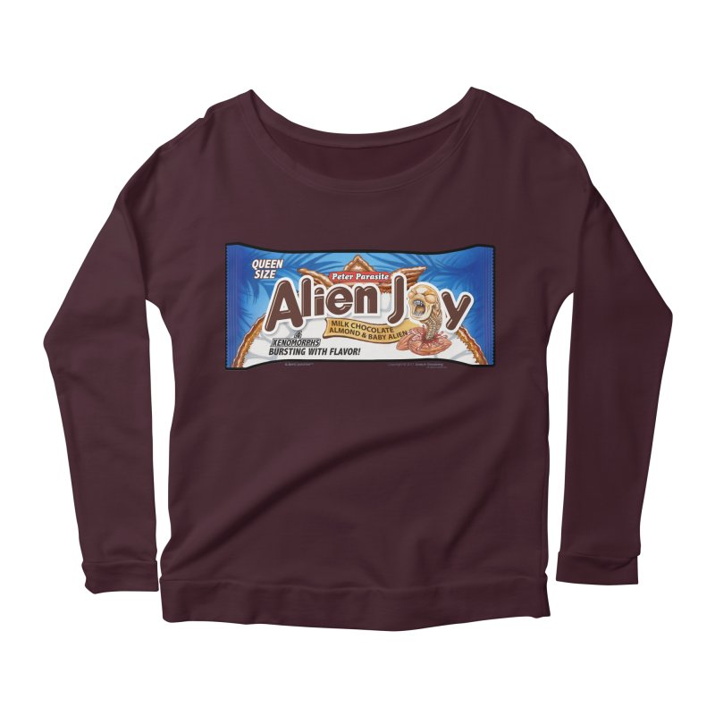 ALIEN JOY Candy Bar - Bursting with Flavor! Women's  by joegparotee's Artist Shop