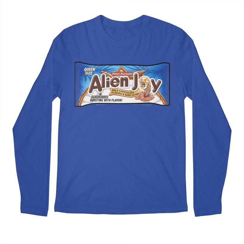 ALIEN JOY Candy Bar - Bursting with Flavor! Men's Regular Longsleeve T-Shirt by joegparotee's Artist Shop