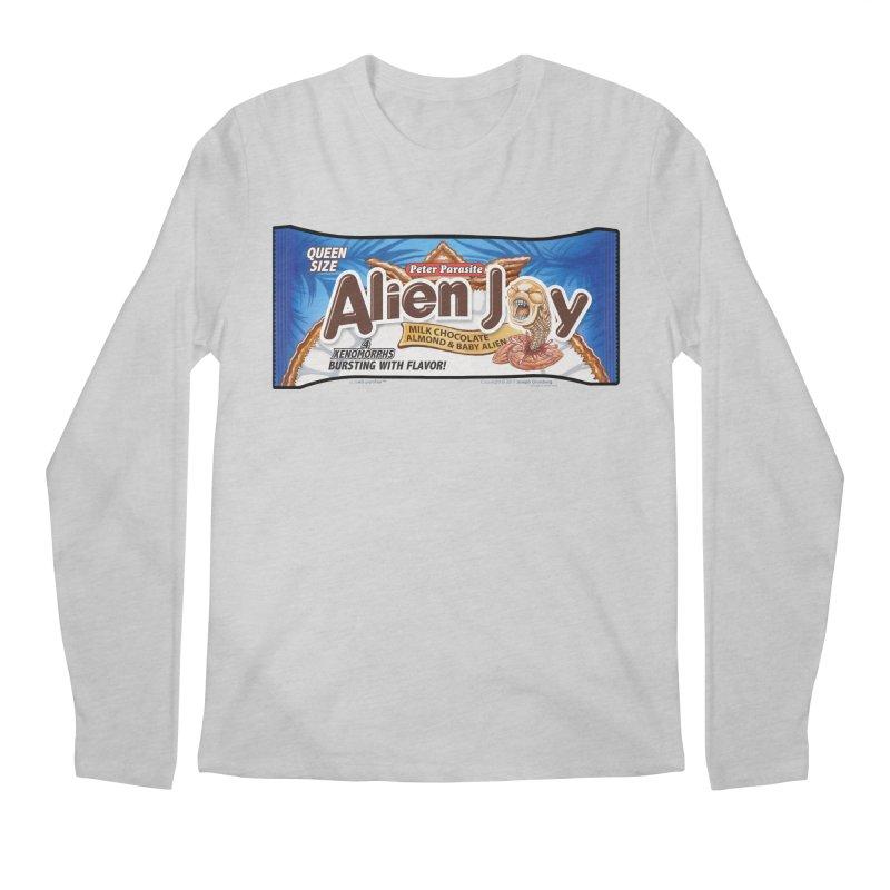 ALIEN JOY Candy Bar - Bursting with Flavor! Men's Longsleeve T-Shirt by joegparotee's Artist Shop