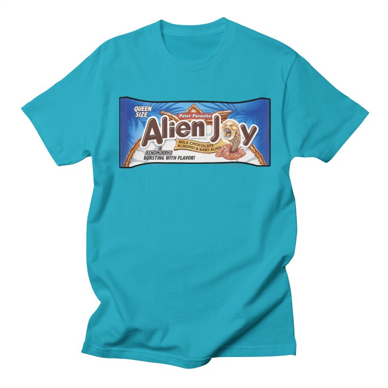 ALIEN JOY Candy Bar - Bursting with Flavor! Women's Unisex T-Shirt by joegparotee's Artist Shop