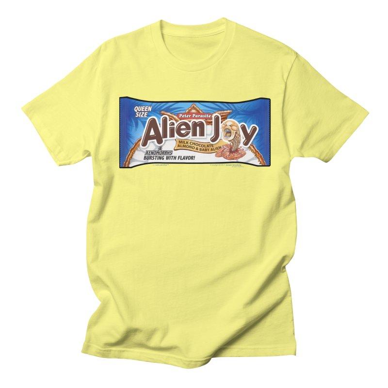 ALIEN JOY Candy Bar - Bursting with Flavor! Men's Regular T-Shirt by joegparotee's Artist Shop