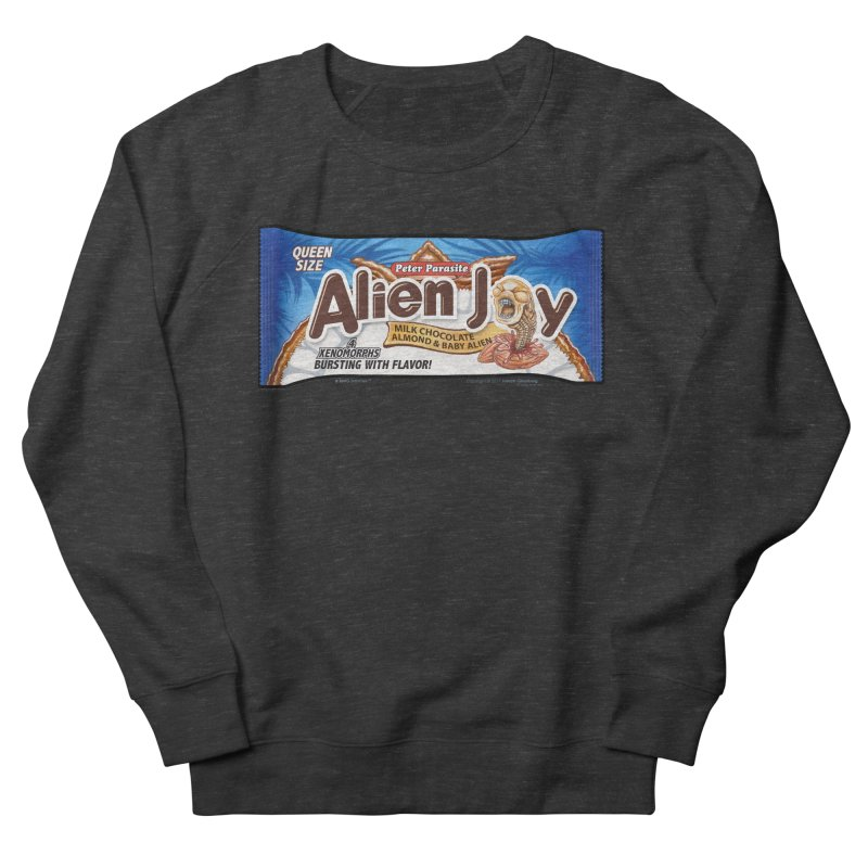 ALIEN JOY Candy Bar - Bursting with Flavor! Men's Sweatshirt by joegparotee's Artist Shop