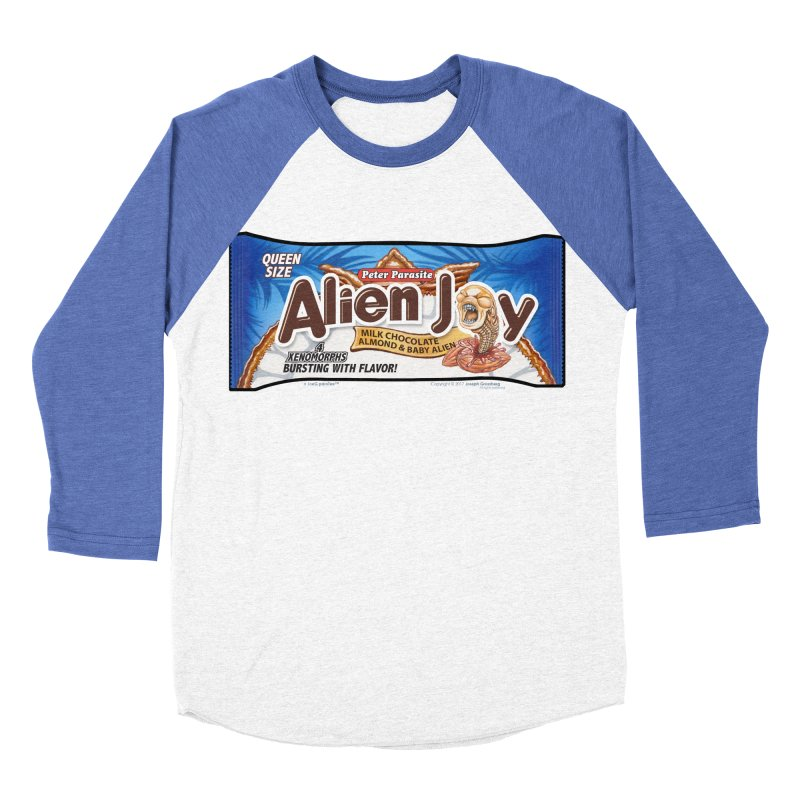 ALIEN JOY Candy Bar - Bursting with Flavor! Women's Baseball Triblend T-Shirt by joegparotee's Artist Shop