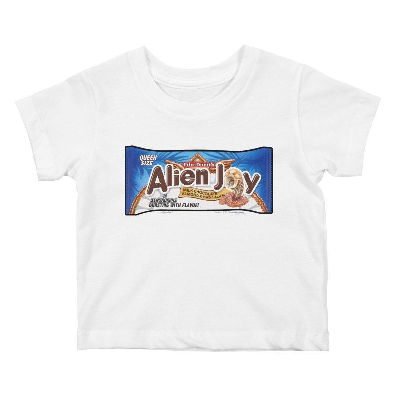 ALIEN JOY Candy Bar - Bursting with Flavor! Kids Baby T-Shirt by joegparotee's Artist Shop