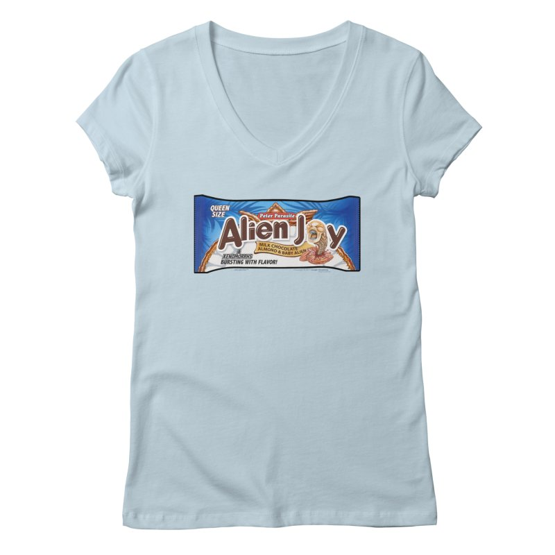 ALIEN JOY Candy Bar - Bursting with Flavor! Women's  by joegparotee's Artist Shop