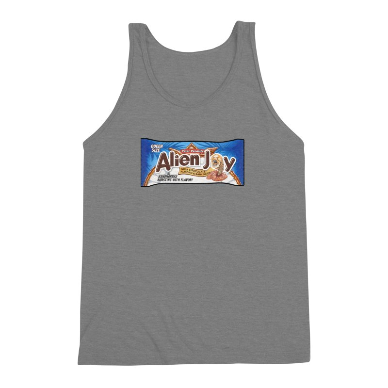 ALIEN JOY Candy Bar - Bursting with Flavor! Men's Triblend Tank by joegparotee's Artist Shop