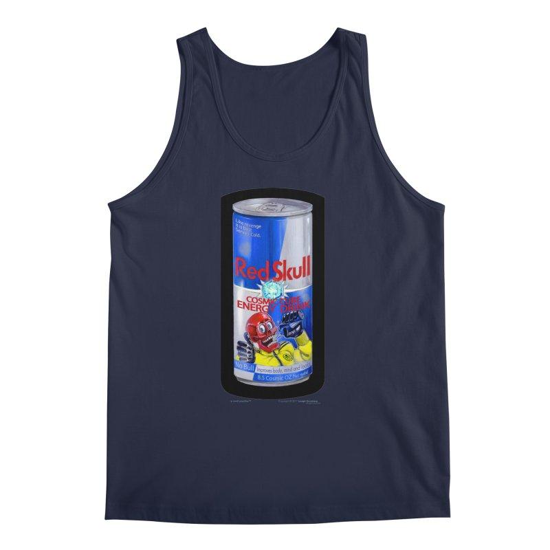 RED SKULL Cosmic Cube Energy Drink - No Bull! Men's Tank by joegparotee's Artist Shop