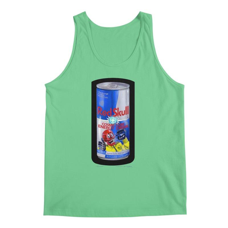 RED SKULL Cosmic Cube Energy Drink - No Bull! Men's Regular Tank by joegparotee's Artist Shop