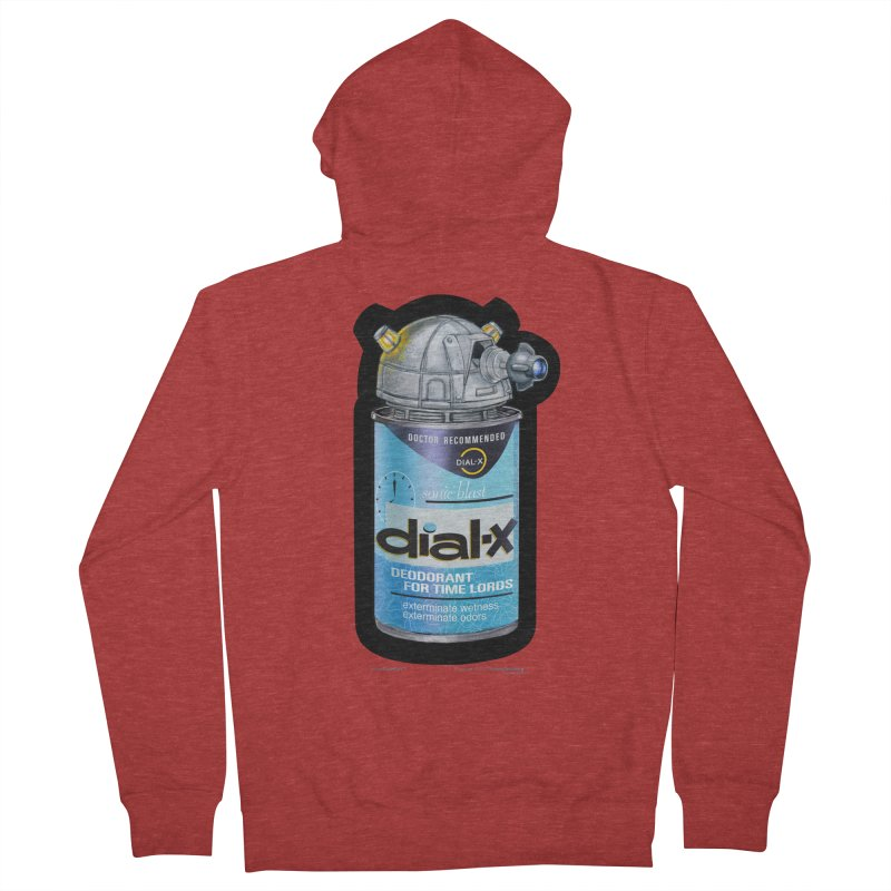 Dial-X Deodorant for Time Lords Women's Zip-Up Hoody by joegparotee's Artist Shop