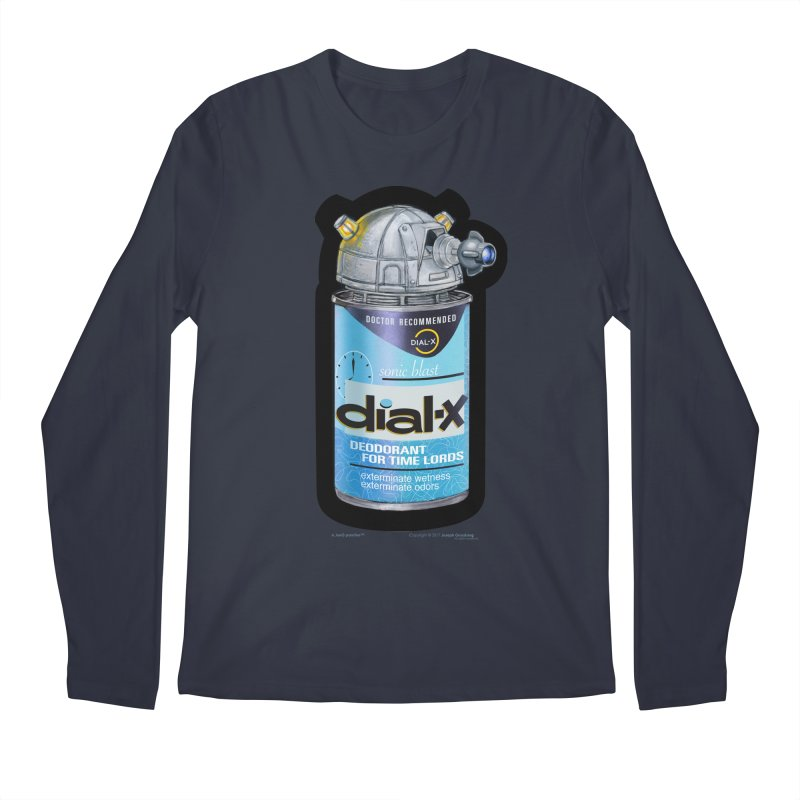 Dial-X Deodorant for Time Lords Men's Regular Longsleeve T-Shirt by joegparotee's Artist Shop