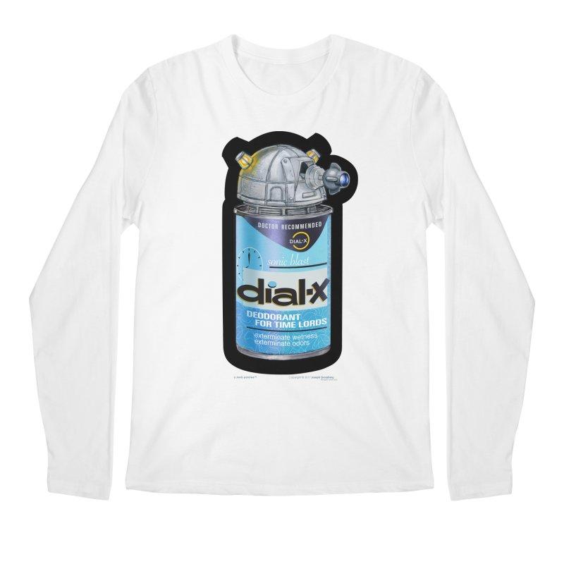 Dial-X Deodorant for Time Lords Men's Regular Longsleeve T-Shirt by joegparotee's Artist Shop