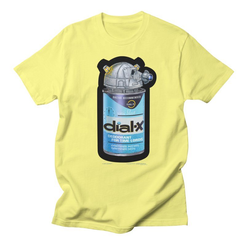 Dial-X Deodorant for Time Lords Men's T-Shirt by joegparotee's Artist Shop