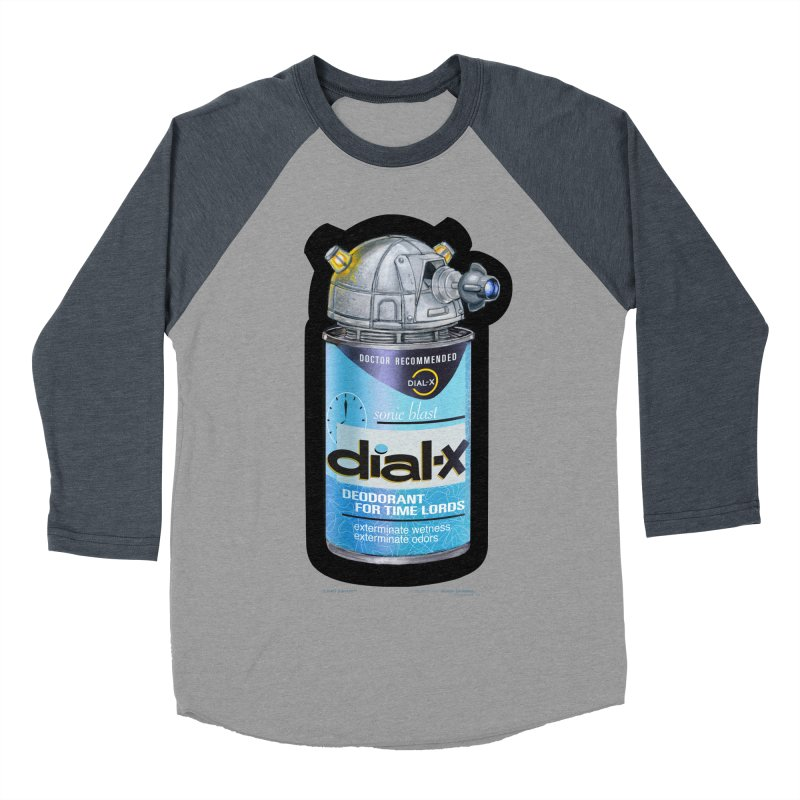 Dial-X Deodorant for Time Lords Women's Baseball Triblend T-Shirt by joegparotee's Artist Shop