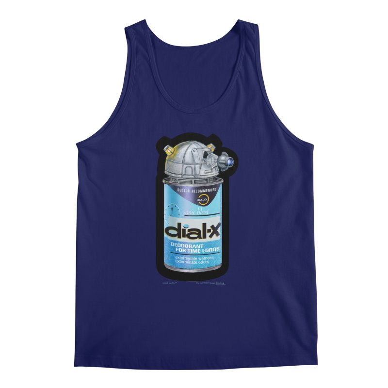 Dial-X Deodorant for Time Lords Men's Tank by joegparotee's Artist Shop