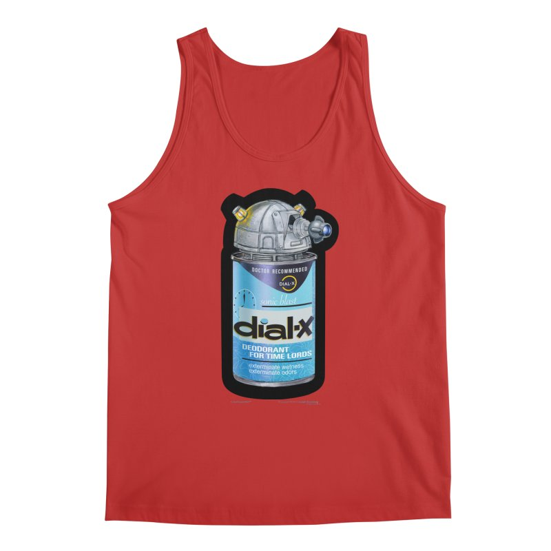 Dial-X Deodorant for Time Lords Men's Regular Tank by joegparotee's Artist Shop