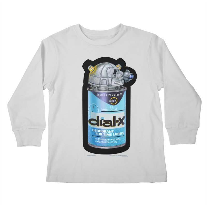 Dial-X Deodorant for Time Lords Kids  by joegparotee's Artist Shop