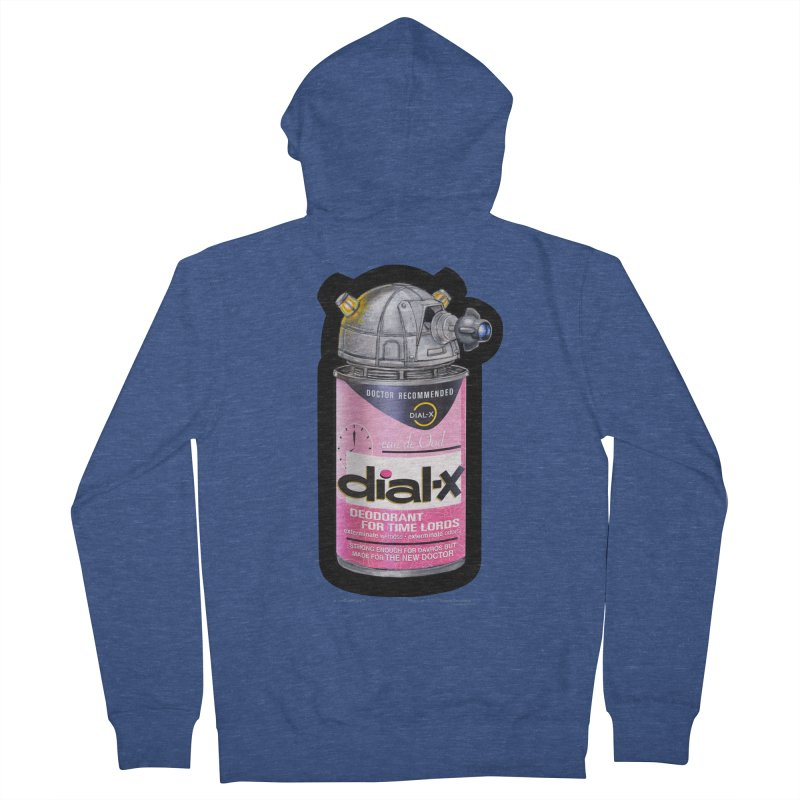 Dial-X for the New Doctor Women's French Terry Zip-Up Hoody by joegparotee's Artist Shop