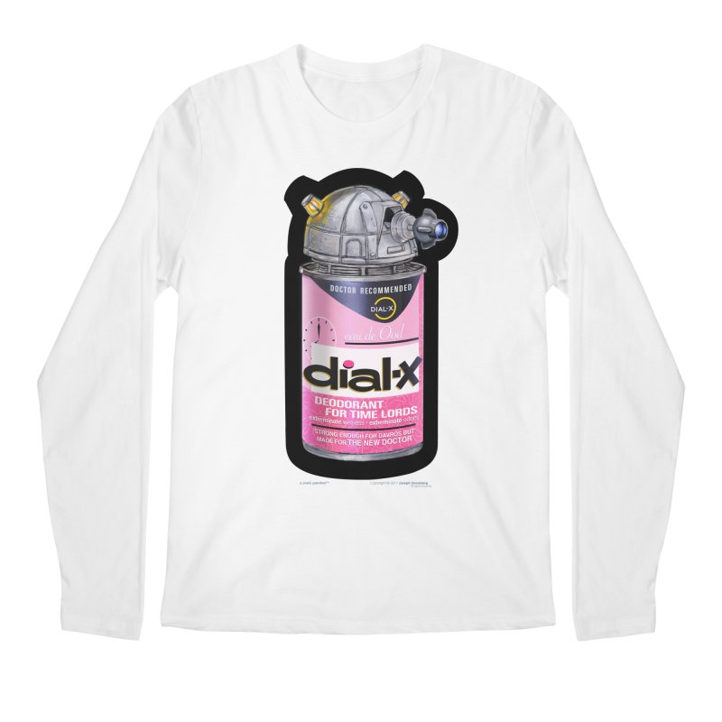 Dial-X for the New Doctor Men's Longsleeve T-Shirt by joegparotee's Artist Shop