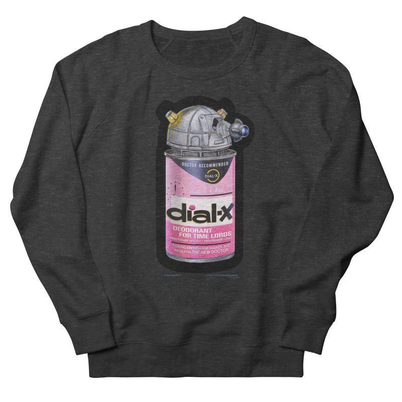 Dial-X for the New Doctor Men's French Terry Sweatshirt by joegparotee's Artist Shop