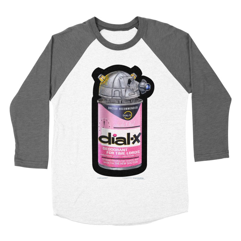 Dial-X for the New Doctor Women's Baseball Triblend T-Shirt by joegparotee's Artist Shop