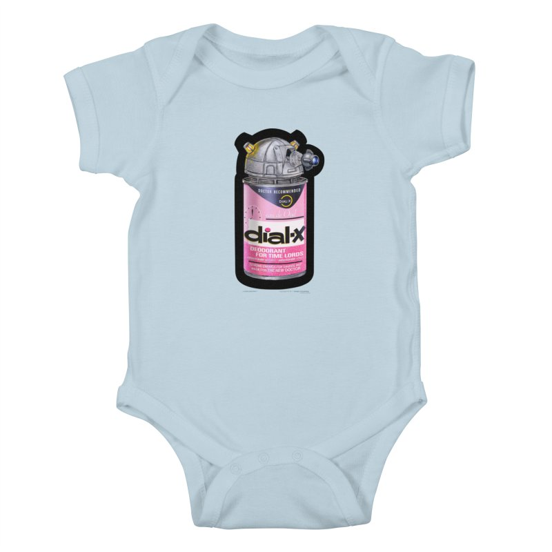 Dial-X for the New Doctor Kids Baby Bodysuit by joegparotee's Artist Shop