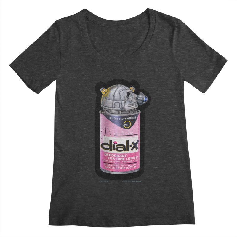 Dial-X for the New Doctor Women's Scoopneck by joegparotee's Artist Shop