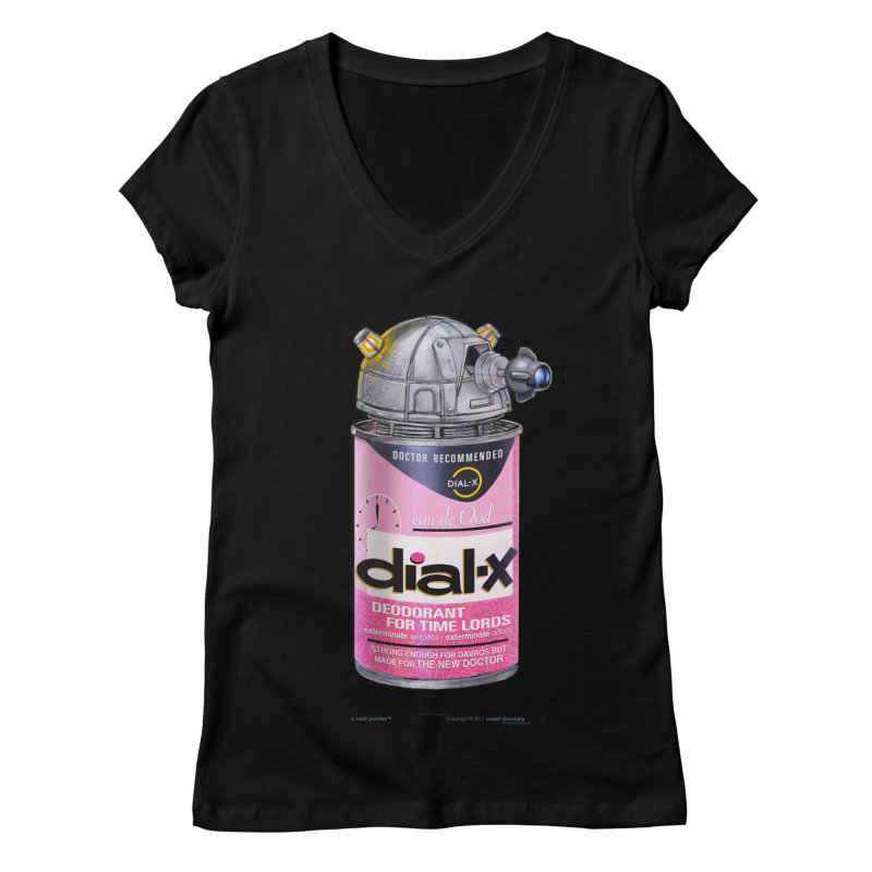Dial-X for the New Doctor Women's V-Neck by joegparotee's Artist Shop