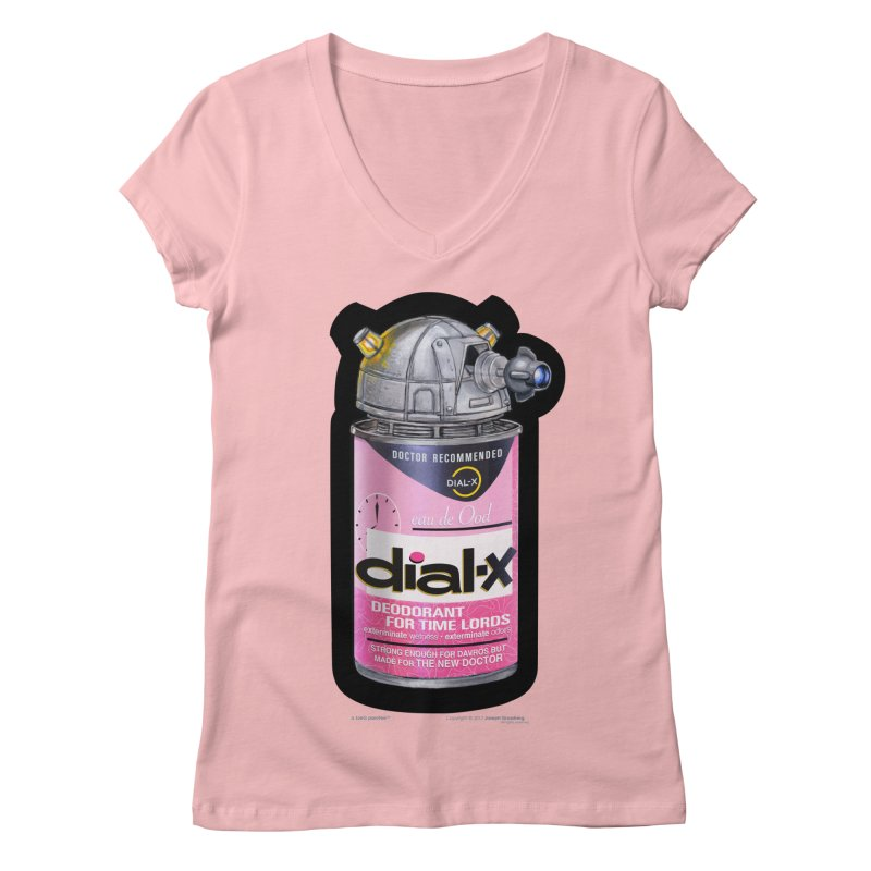 Dial-X for the New Doctor Women's Regular V-Neck by joegparotee's Artist Shop