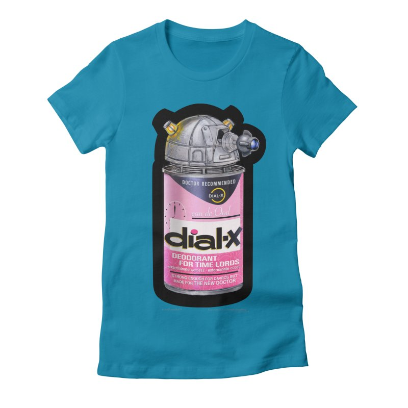 Dial-X for the New Doctor Women's Fitted T-Shirt by joegparotee's Artist Shop