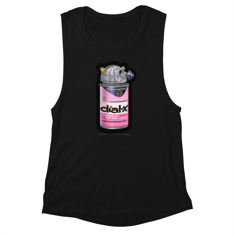 Dial-X for the New Doctor Women's Muscle Tank by joegparotee's Artist Shop