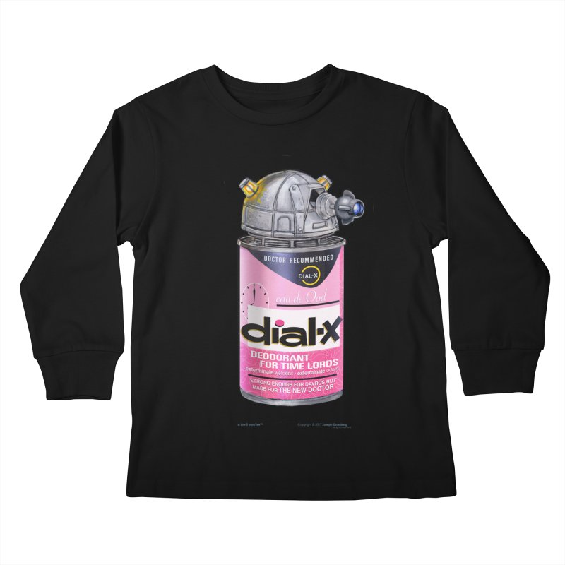 Dial-X for the New Doctor Kids Longsleeve T-Shirt by joegparotee's Artist Shop