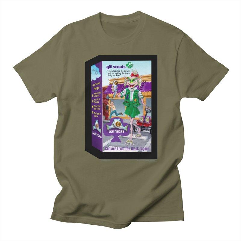 Gill Scout Cookies Men's Regular T-Shirt by joegparotee's Artist Shop