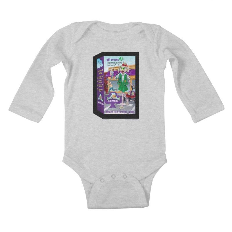 Gill Scout Cookies Kids Baby Longsleeve Bodysuit by joegparotee's Artist Shop