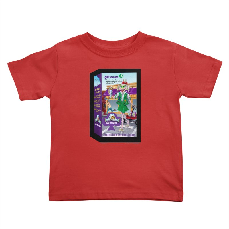 Gill Scout Cookies Kids Toddler T-Shirt by joegparotee's Artist Shop