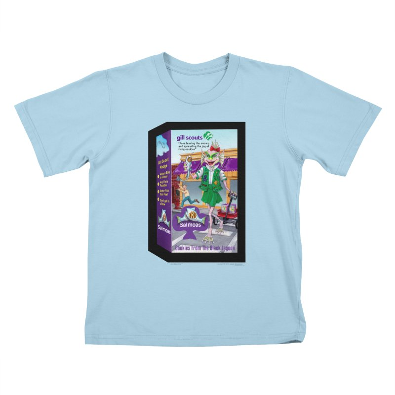 Gill Scout Cookies Kids T-Shirt by joegparotee's Artist Shop