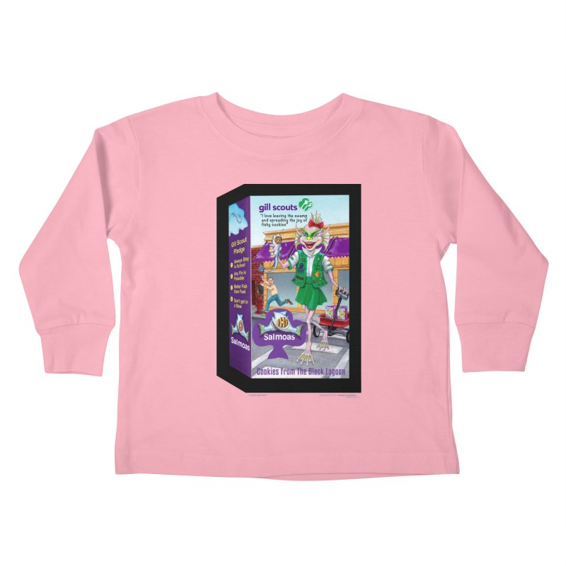 Gill Scout Cookies Kids Toddler Longsleeve T-Shirt by joegparotee's Artist Shop