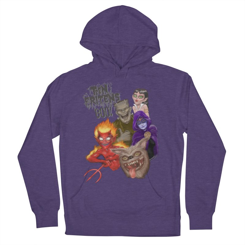 Teen Fritens BOO! Women's Pullover Hoody by joegparotee's Artist Shop