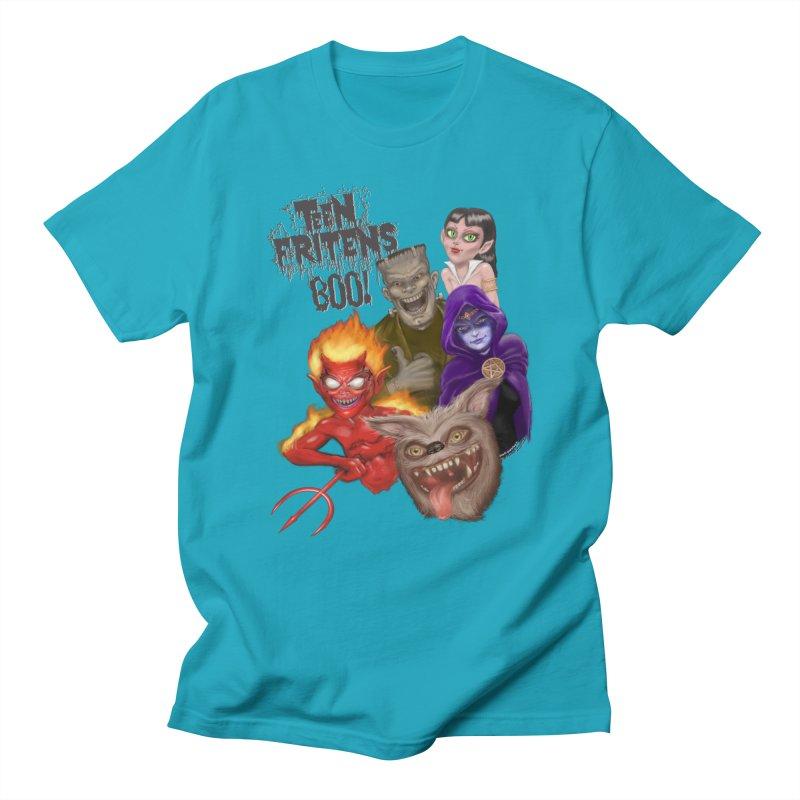 Teen Fritens BOO! Men's Regular T-Shirt by joegparotee's Artist Shop