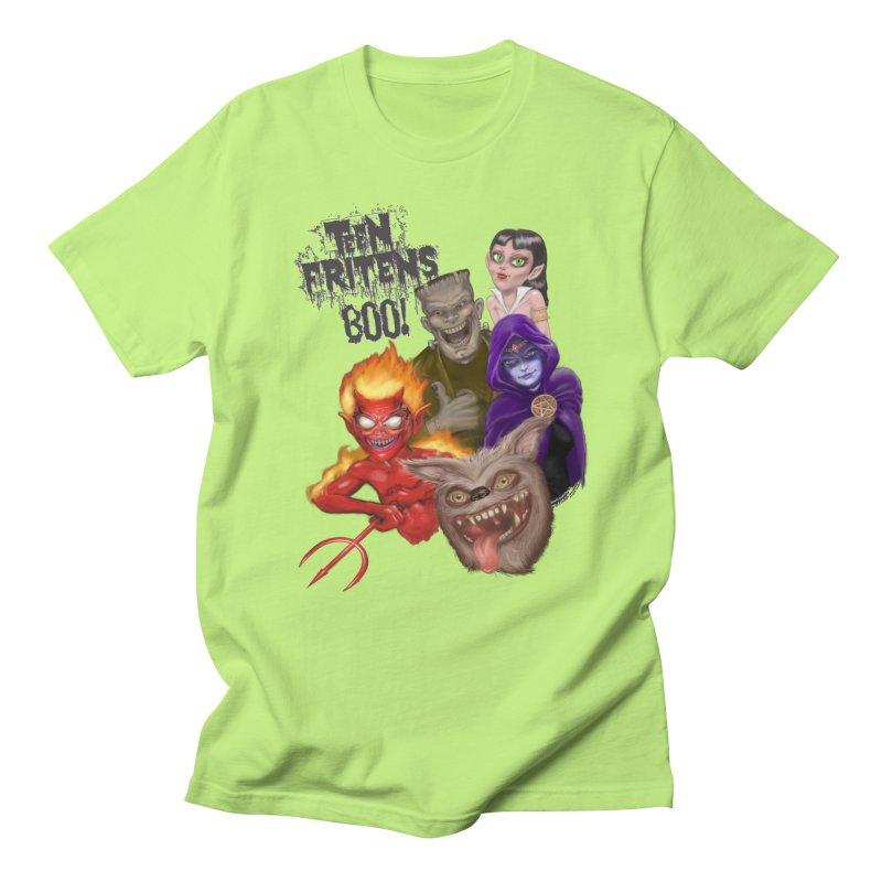 Teen Fritens BOO! Men's T-Shirt by joegparotee's Artist Shop