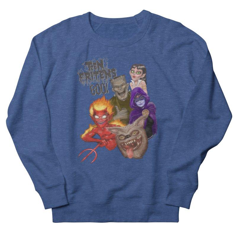 Teen Fritens BOO! Women's Sweatshirt by joegparotee's Artist Shop