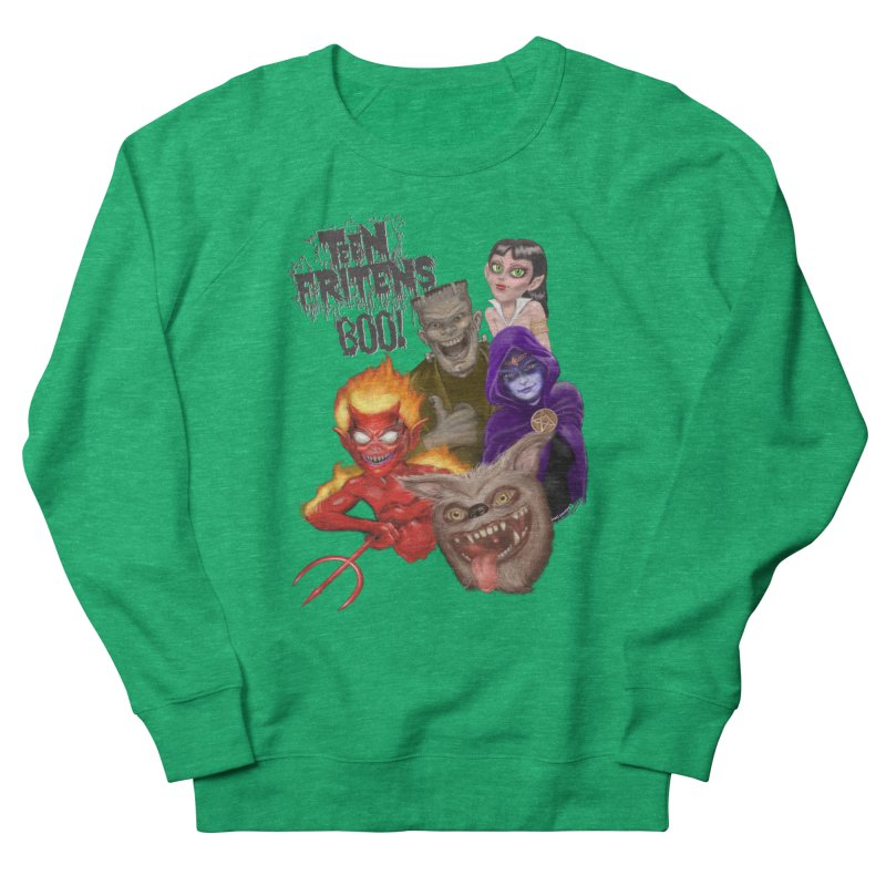 Teen Fritens BOO! Men's Sweatshirt by joegparotee's Artist Shop