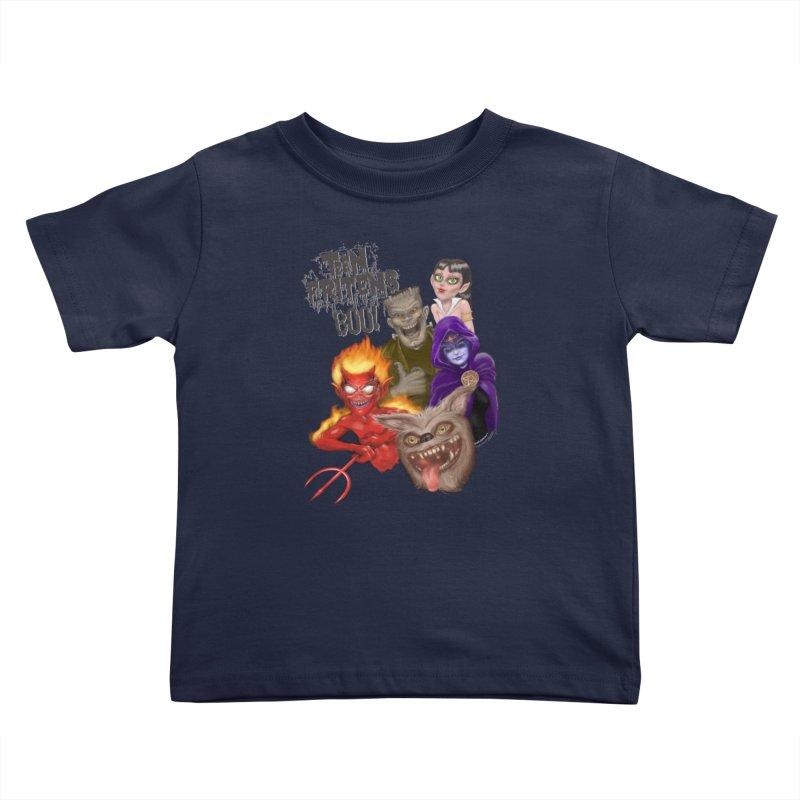 Teen Fritens BOO! Kids Toddler T-Shirt by joegparotee's Artist Shop