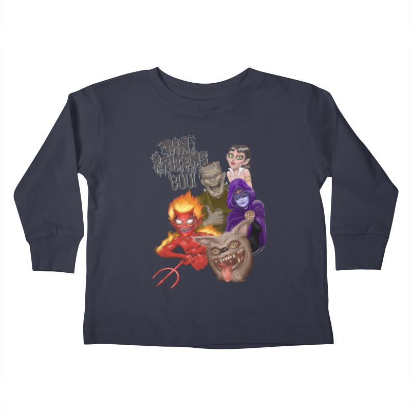 Teen Fritens BOO! Kids Toddler Longsleeve T-Shirt by joegparotee's Artist Shop